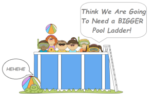 Best Above Ground Pool Ladders For Heavy People