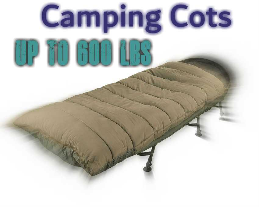 Camping Cots For Heavy People