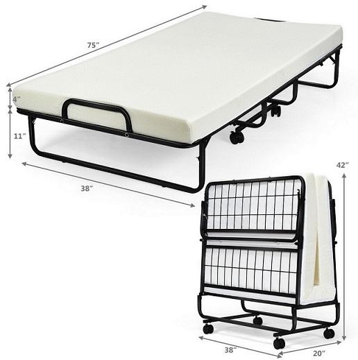 Wide Folding Beds