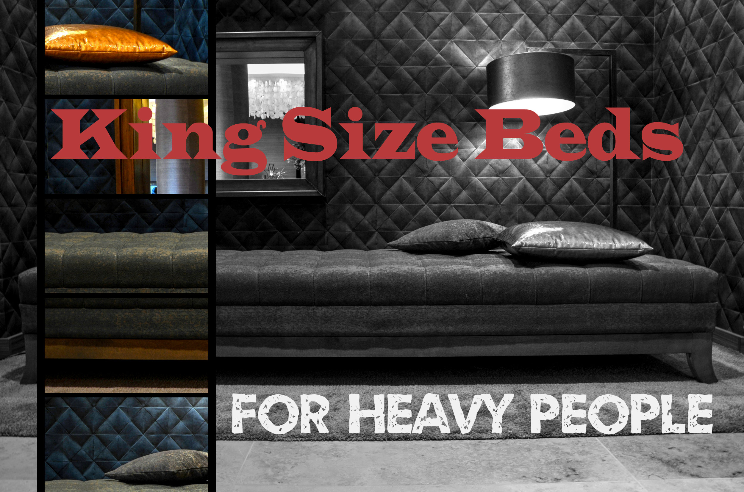 King Beds For Heavy People | For Big & Heavy People