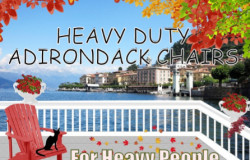 Heavy Duty adirondack chairs For Large People