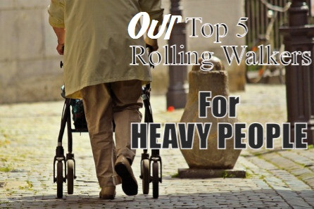 Bariatric Rolling Walkers For Overweight People Up To 600 Lbs