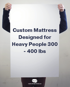 Mattress For 300 To 400 Pound People