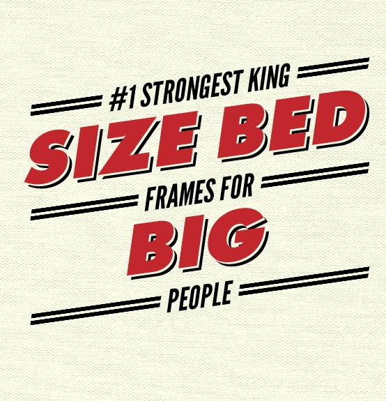 Strongest King Size Bed Frames For Large Couples
