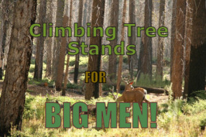 Extra Large Climbing Tree Stands For Big Men cover image