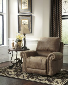 Extra Wide Recliner Chair Tallow