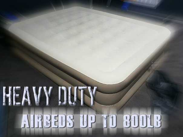 Heavy Duty Air Mattresses For Heavy People