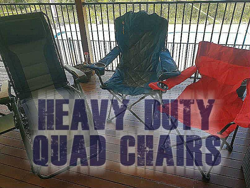 Heavy Duty Tailgate Chairs