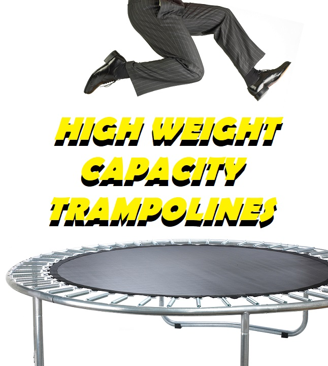 High Weight Capacity Exercise Trampolines