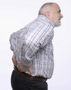 Overweight Man With Bad Back