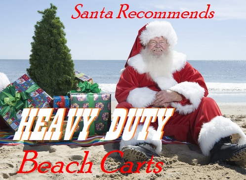 Best Heavy Duty Beach Carts Reviews For Soft Sand