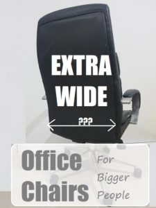 Extra Wide Office Chairs