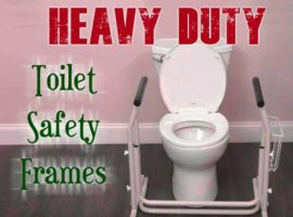 Heavy Duty Toilet Safety Frames