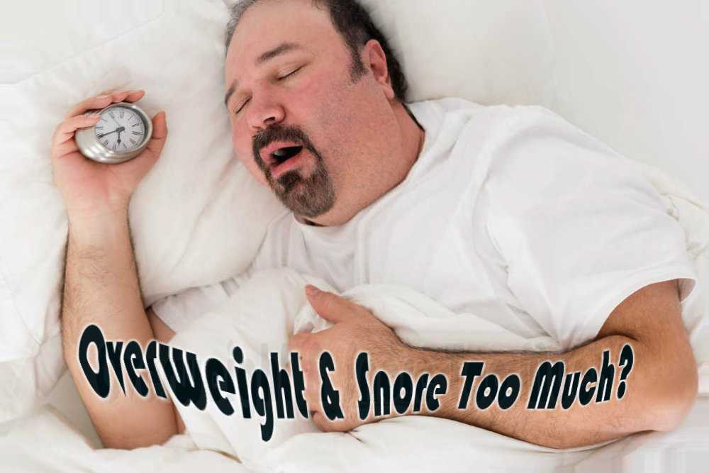 Why Do Overweight People Snore
