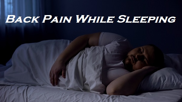 Overweight Back Pain Sleeping