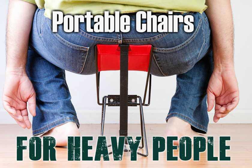 500 Lb Capacity Heavy Duty Portable Chairs