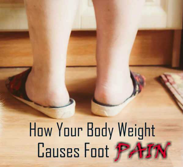 Can Being Overweight Cause Foot Pain