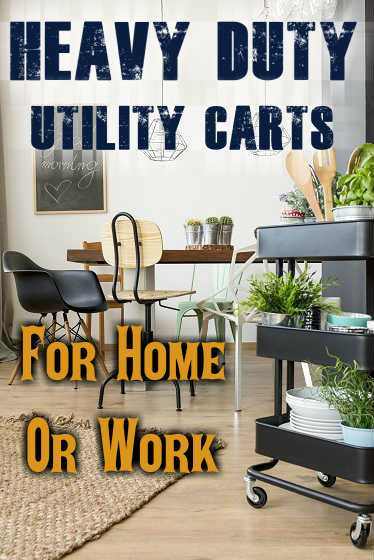 Best Heavy Duty Utility Carts