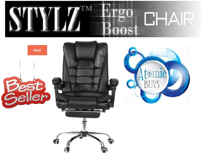 Executive Office Chair With Footrest