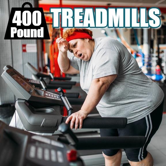 Treadmills 400 Lbs User Capacity