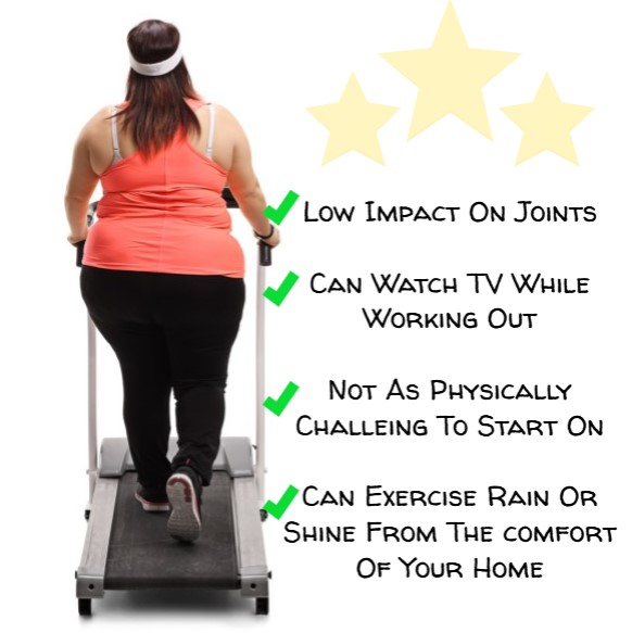 Benefits of using treadmill to lose weight